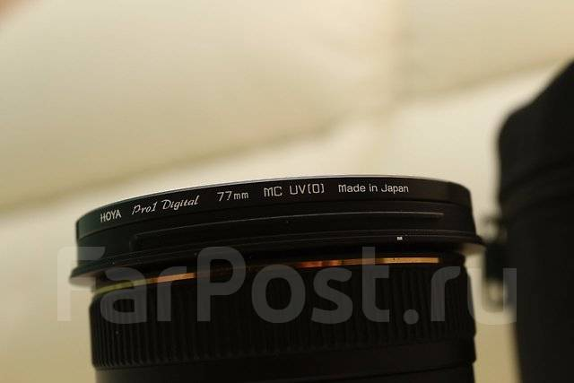 Объектив Sigma AF 10-20mm f/4-5.6 EX DC HSM Canon. Для Canon, диаметр фильтра 77 мм
