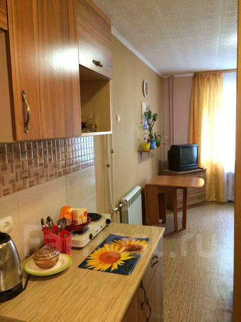 Гостинка, улица Сельская 10. Баляева, 18 кв.м. Кухня