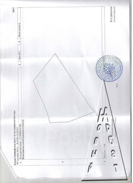 Земельный участок на Весенней. 1 400 кв.м., собственность, от агентства недвижимости (посредник). Схема участка