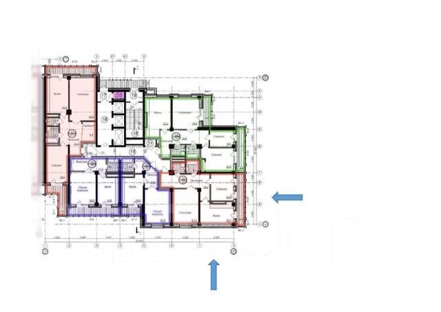2-комнатная, улица Пионерская 1. Индустриальный, частное лицо, 84 кв.м.