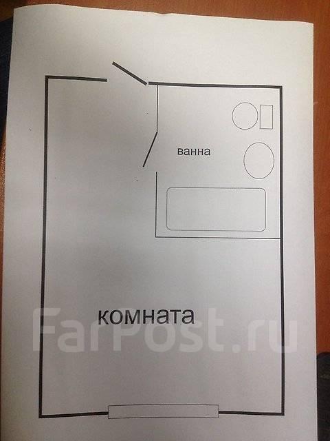 Гостинка, проспект Красного Знамени 133/1. Третья рабочая, частное лицо, 24 кв.м. План квартиры