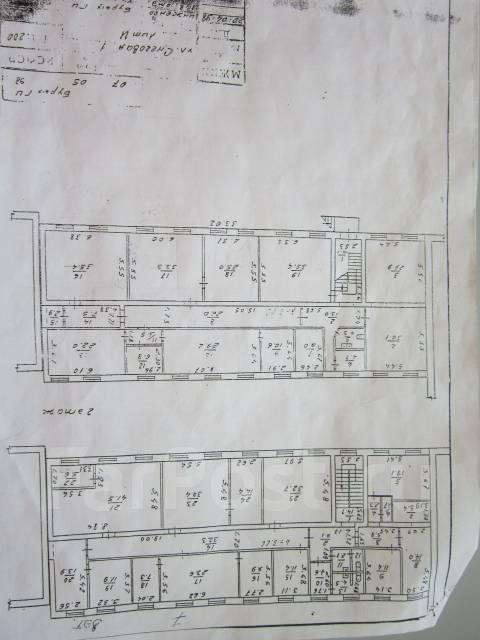 Помещение из трех кабинетов. 60 кв.м., улица Снеговая 1, р-н Снеговая. План помещения