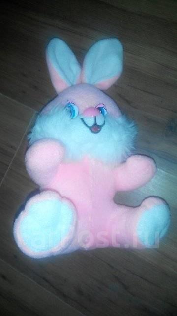 Плюшевая игрушка зайка