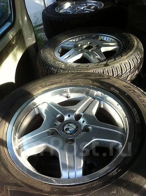 Колеса AMG R18 Mercedes-Benz G55 W463 Dunlop Grandtrek IT. 9.5x18 5x130.00 ET50