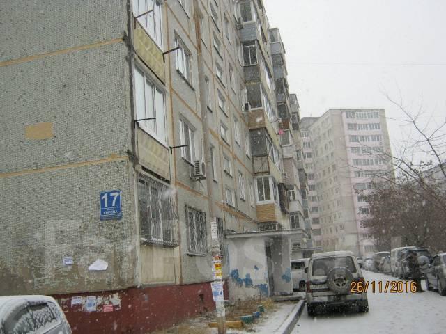 2-комнатная, улица Кирова 17. Вторая речка, агентство, 46 кв.м. Дом снаружи