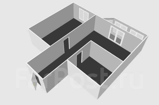 1-комнатная, улица Прапорщика Комарова 58. Центр, агентство, 36 кв.м. План квартиры