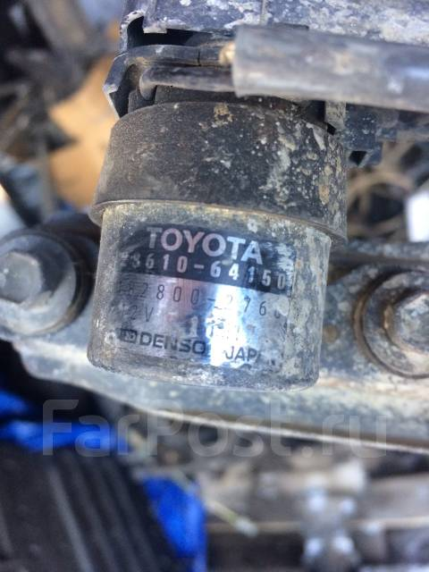 Реле накала. Toyota Corona, CT195, CT190 Toyota Caldina, CT198, CT190, CT196 Toyota Carina, CT190, CT195 Toyota Carina E, CT190 Двигатель 2C