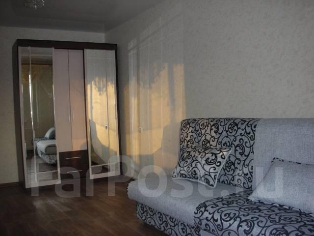 1-комнатная, улица Хабаровская 33А. Железнодорожный, частное лицо, 36 кв.м.