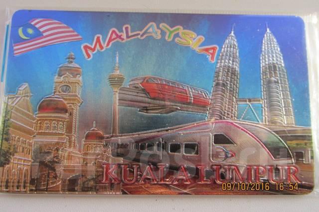 Продам магнит на холодильник малазия.