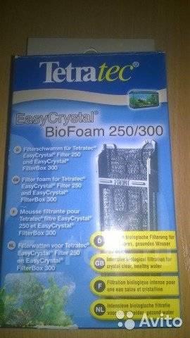 Внутренний фильтр-водопад Tetratec Easycrystal 250