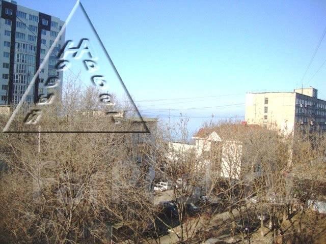 1-комнатная, улица Кирова 56а. Вторая речка, агентство, 30 кв.м. Вид из окна днём