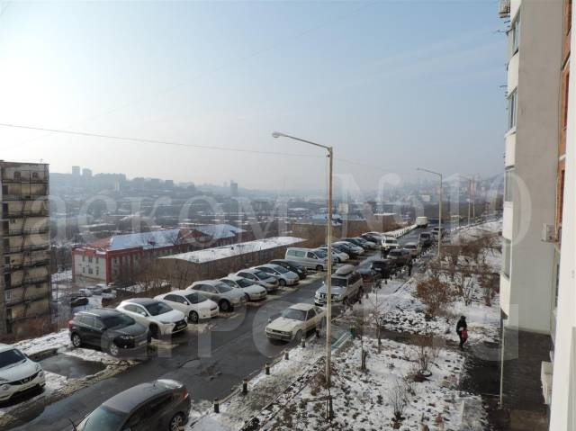 1-комнатная, улица Ватутина 4а. 64, 71 микрорайоны, агентство, 40 кв.м. Вид из окна днём