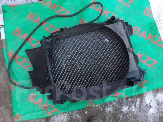 Радиатор охлаждения двигателя. Nissan Atlas, H4F23 Двигатель KA20DE