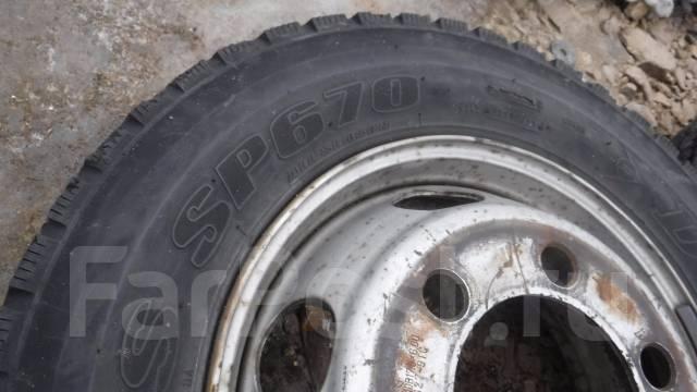 Комплект грузовых колёс 7шт 215/70R17.5 LT. x17.5 6x135.00