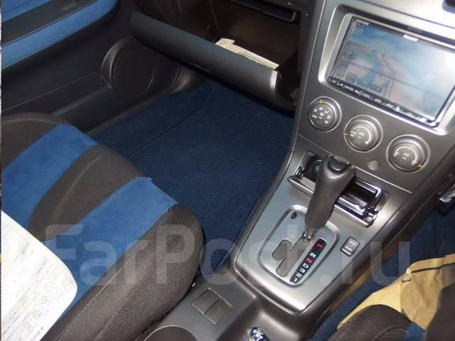 Ручка переключения автомата. Subaru Impreza WRX, GD, GDA