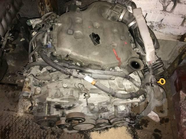 Двигатель. Nissan Fuga, PY50, Y50 Двигатель VQ35DE