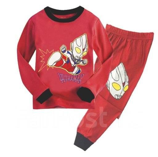Пижамы. Рост: 86-98, 98-104, 104-110, 110-116, 116-122, 122-128 см