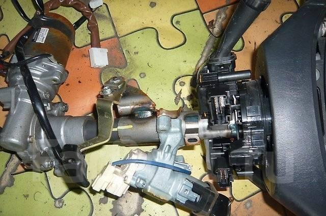 Блок подрулевых переключателей. Toyota Corolla Fielder, NZE121