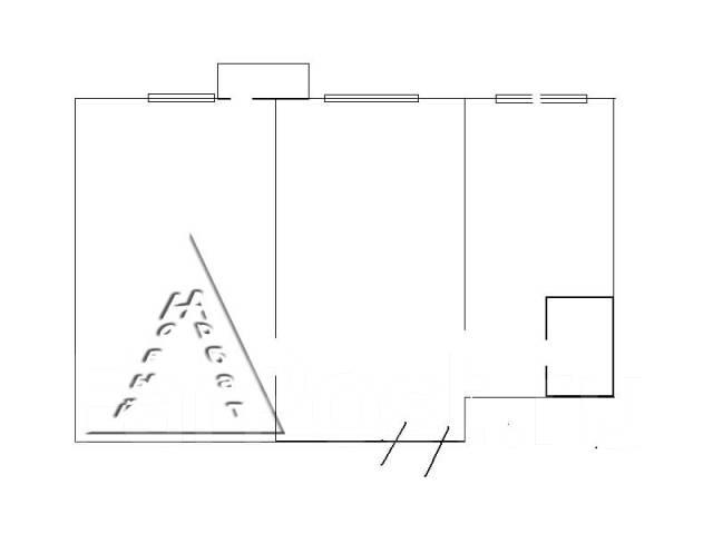 2-комнатная, улица Завойко 2. Столетие, агентство, 47 кв.м. План квартиры