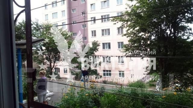 2-комнатная, переулок Днепровский 7. Столетие, агентство, 46 кв.м. Вид из окна днем