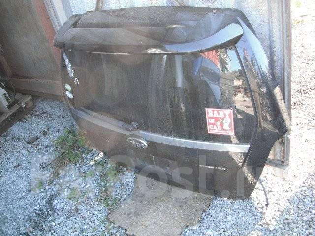 Дверь багажника. Subaru Forester, SG5 Двигатель EJ205