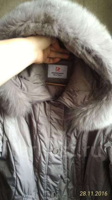Пальто-пуховики. 56, 58