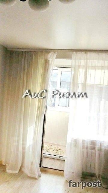 1-комнатная, улица Комсомольская 25б. Первая речка, агентство, 45 кв.м.