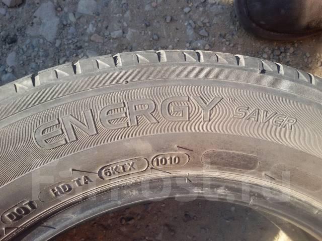 Michelin Energy Saver. Летние, 2010 год, износ: 60%, 2 шт