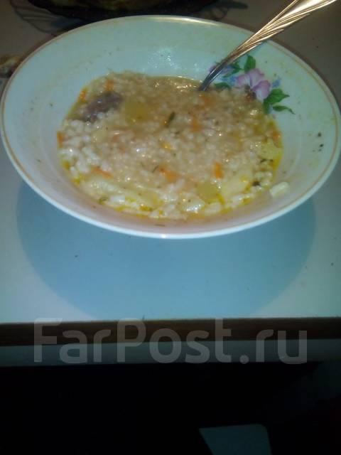 Продам тарелку супа с говядиной