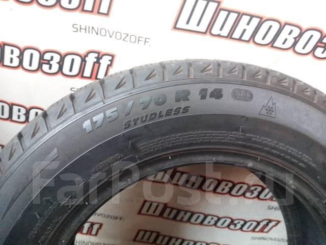 Michelin X-Ice. Зимние, без шипов, 2008 год, износ: 20%, 4 шт