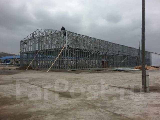 Производство металлокаркасовкомплекты зданий из ЛСТК