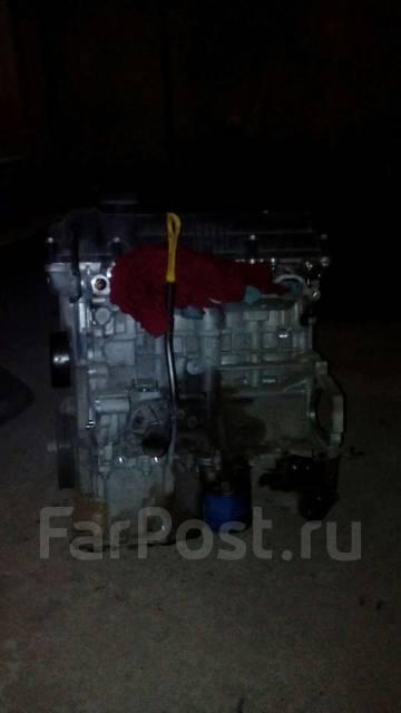 Двигатель. Hyundai Solaris Kia Rio Двигатель G4FA