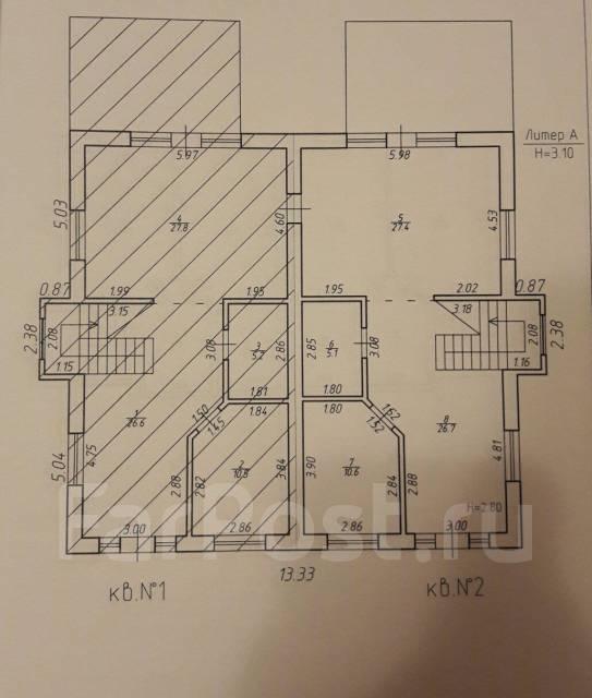 Продам Таунхаус, Анапа. Российская, р-н Цибанобалка, площадь дома 132 кв.м., централизованный водопровод, электричество 20 кВт, отопление газ, от аге...