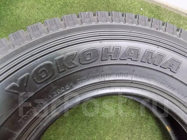 Yokohama Geolandar I/T. Зимние, без шипов, 2008 год, износ: 20%, 4 шт