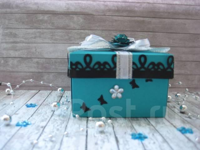 Коробочка для подарка ручной работы.