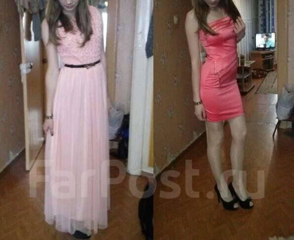 Платья выпускные. 42
