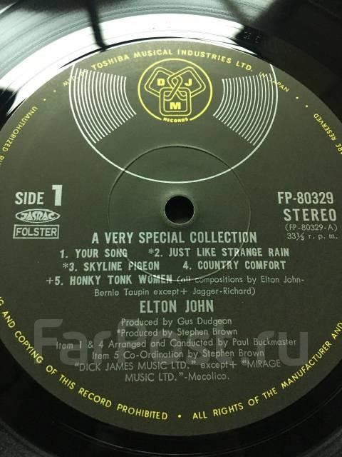 Виниловая пластинка Elton John - Very Special Collection