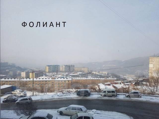 Гостинка, улица Луговая 50а. Баляева, проверенное агентство, 23 кв.м. Вид из окна днём