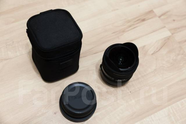 Объектив Sigma 10mm f2.8. Для Canon