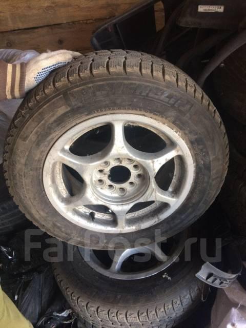 Продам хорошие зимние колеса!. x14