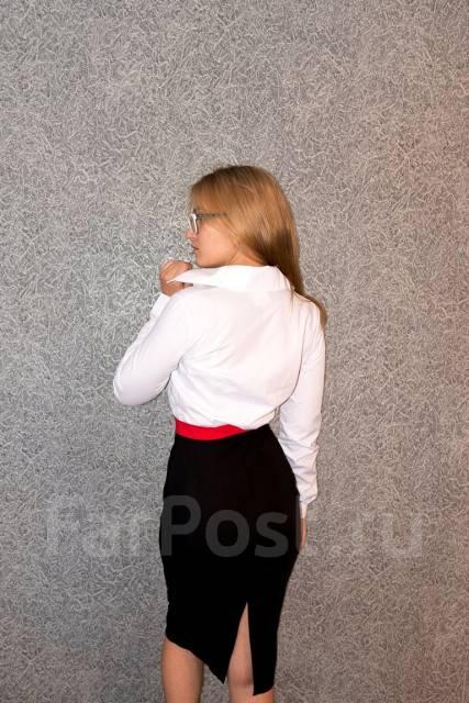 Платья офисные. 44, 46