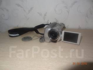 Panasonic NV-GS180. Менее 4-х Мп, без объектива