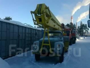 ГАЗ 53-02. Автовышка АГП-18 на базе ГАЗ-53 1989г 125000р, 3 000 куб. см., 18 м.