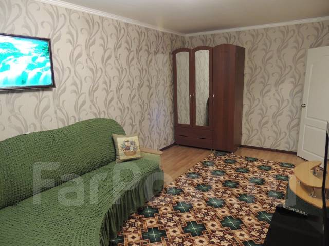 1-комнатная, улица Краснореченская 163а. Индустриальный, 33 кв.м.