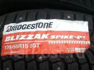 Bridgestone Blizzak Spike-01. Зимние, шипованные, 2013 год, без износа, 4 шт. Под заказ