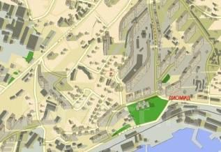 Продам земельный участок, район Чуркина во Владивостоке. 1 345 кв.м., собственность, электричество, вода, от частного лица (собственник). Схема участ...