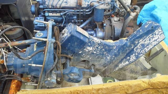 Мотор Isuzi 115л/с турбо с ногой и редуктором. 115,00л.с., 4х тактный, дизель, нога X (635 мм), Год: 1998 год