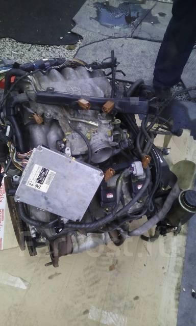 Двигатель. Toyota Granvia, VCH16, VCH10 Двигатель 5VZFE