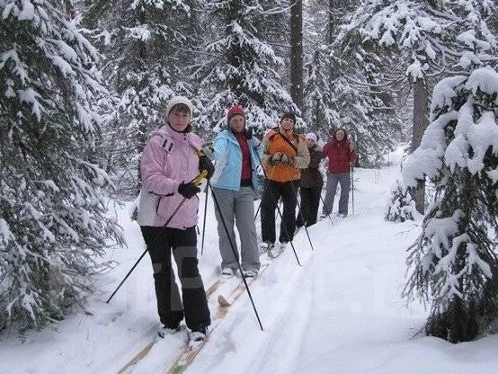 Лыжная прогулка. Подарочный сертификат