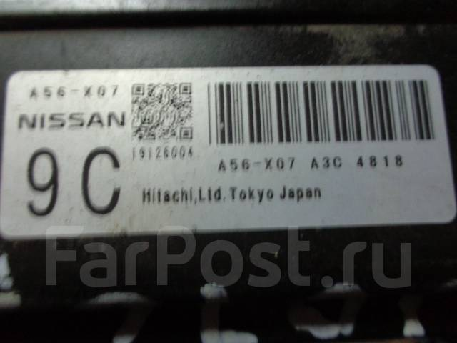 Блок управления двс. Nissan AD, VHNY11 Двигатель QG18DE